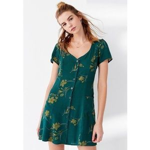 Urban outfitters Lola button-down floral dress